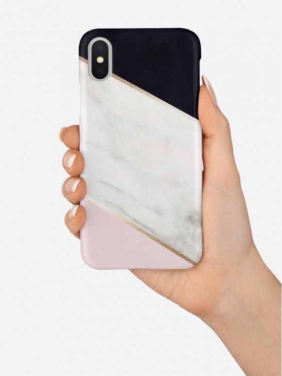 White Marble Mix Case