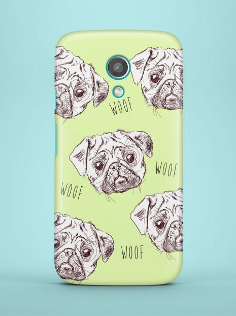 Pugs in Green Case
