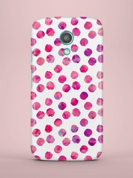 Purple dots Case