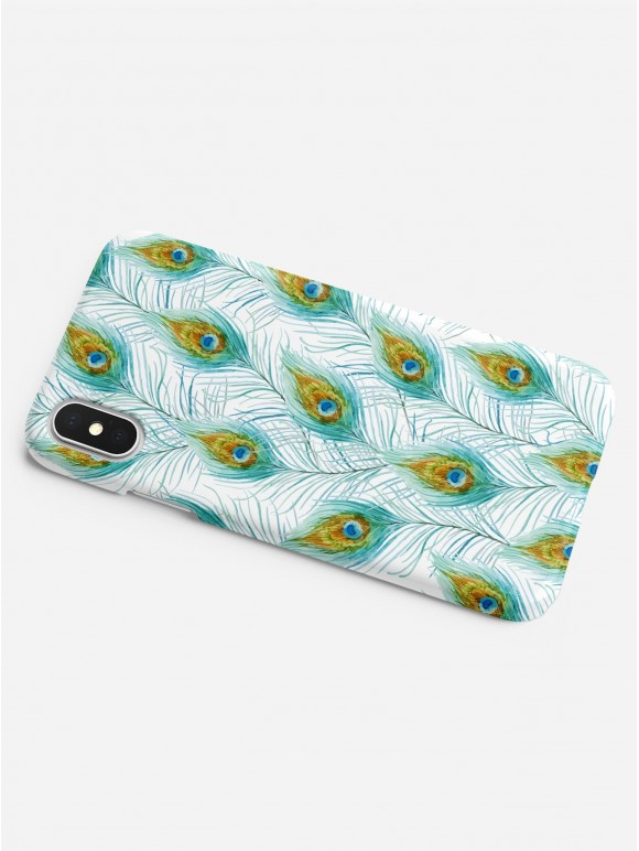 Peacock Feathers Case