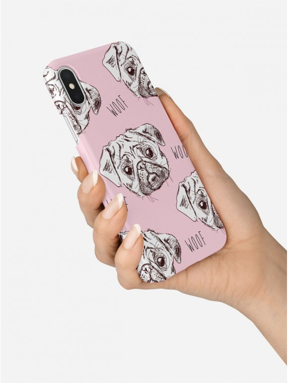 Pugs in Pink Case