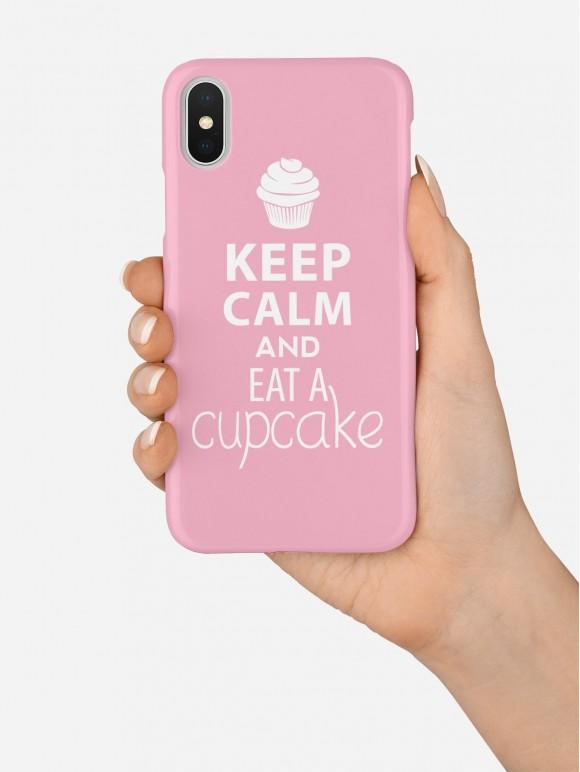 Keep Calm And Eat Cupcake Case