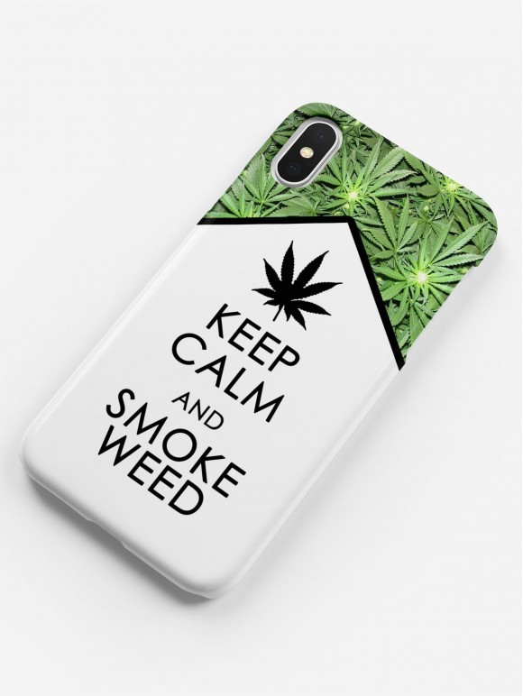 Keep calm and smoke weed Case