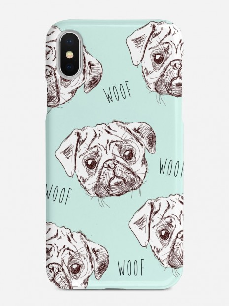 Pugs in Green Case