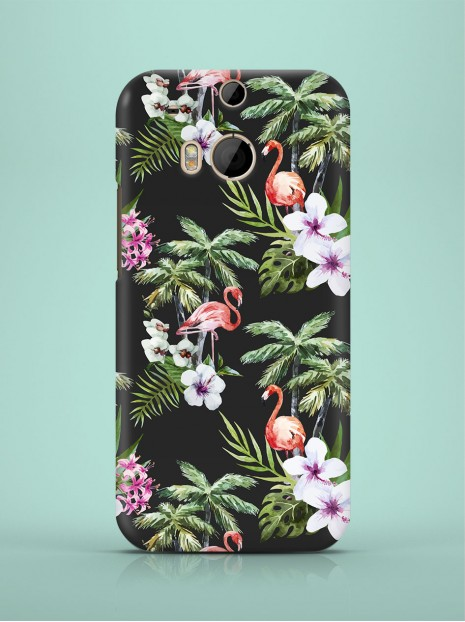 Exotic Flamingos Case
