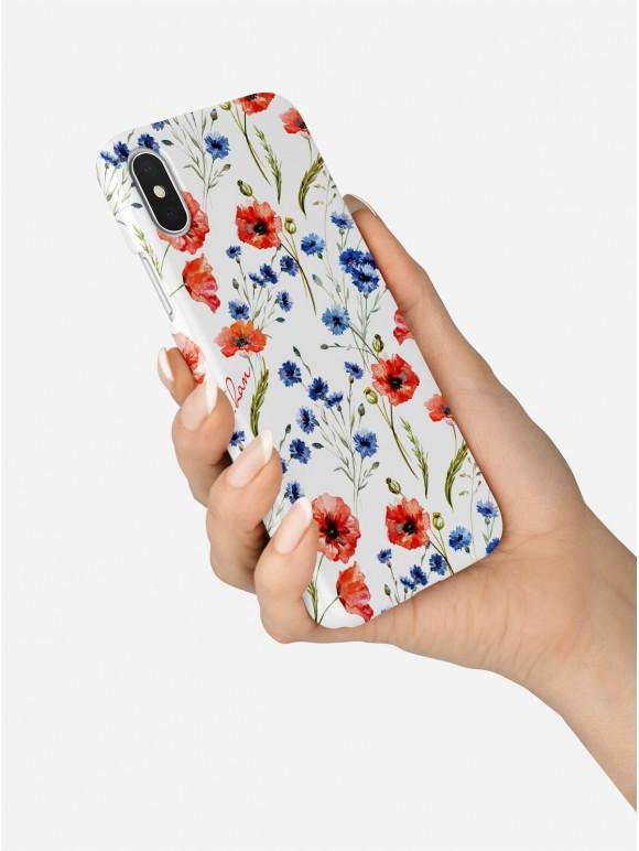 Poppy seed flowers Case