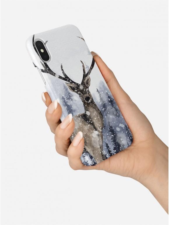 Winter Deer Case