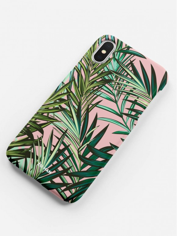 Pink Tropical Vibes Case