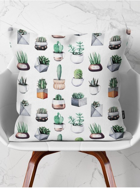Throw Pillow My Plants Collection