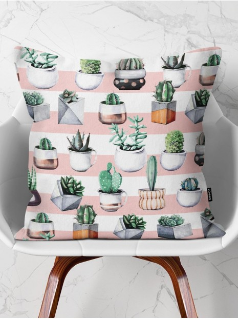 Throw Pillow Plants Lover