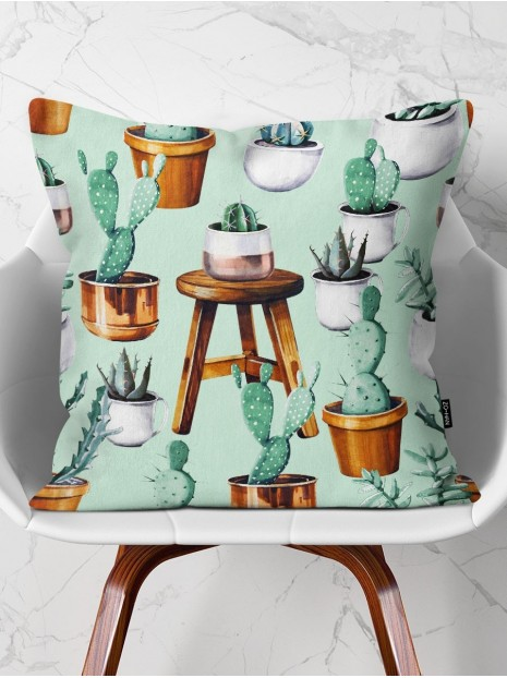 Throw Pillow Lovely Garden