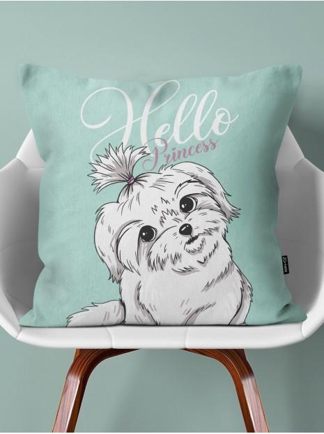 Poduszka Maltese Puppy