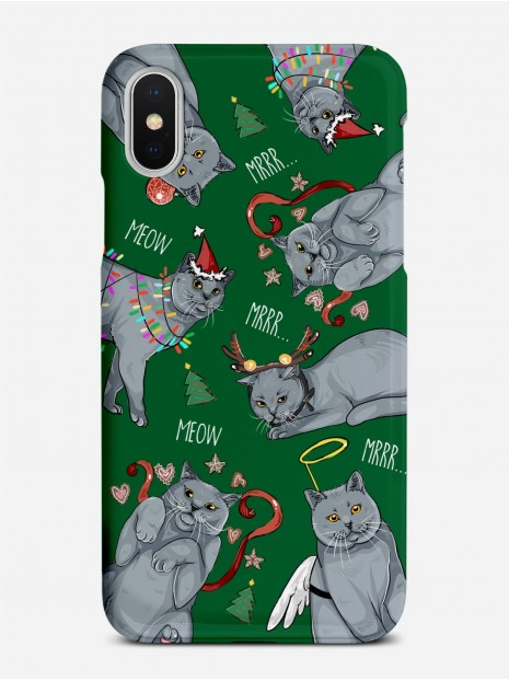 Christmas Cats Case