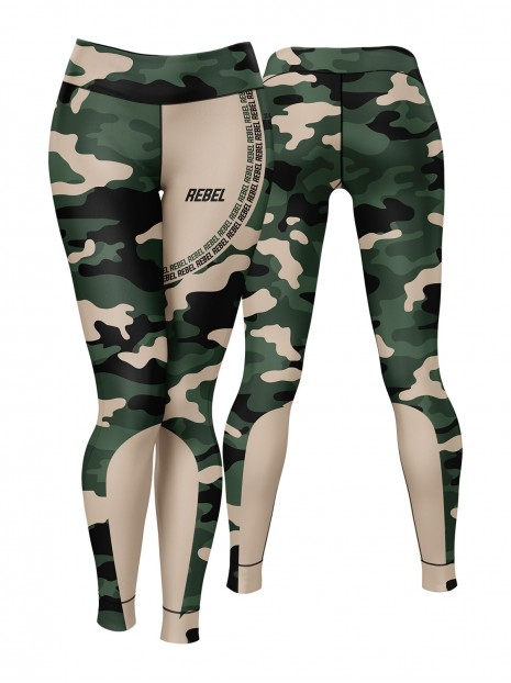 Rebel Camo Leggings