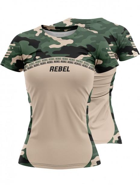 Rebel Camo - Koszulka treningowa