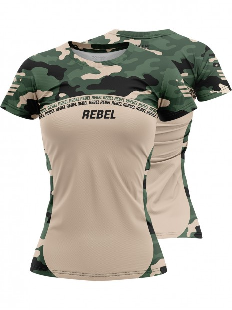 Training T-shirt Rebel Camo