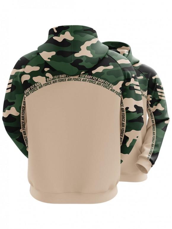 Air Force Camo Hoodie