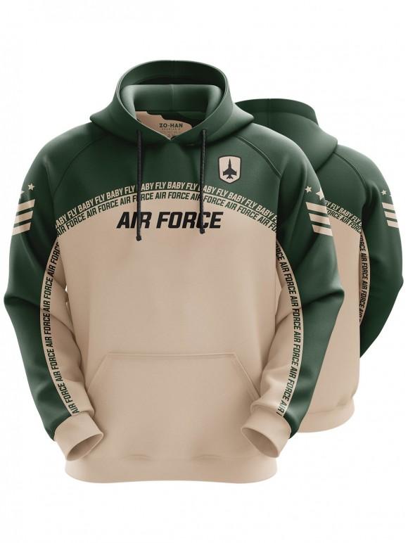 Air Force Green Hoodie