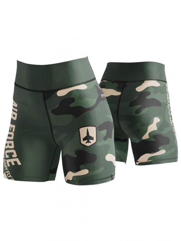 Air Force Camo Short Leggings