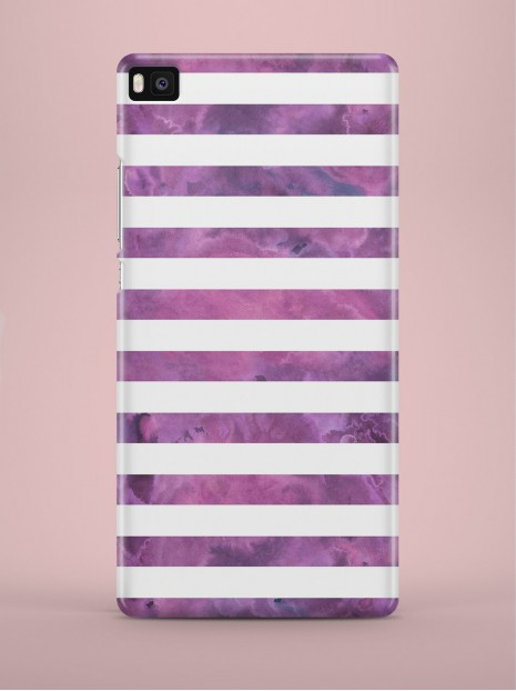 Purple striped Case