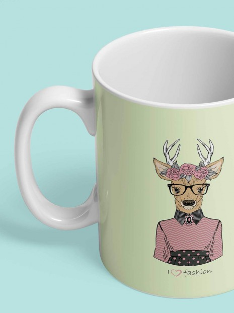 Lovely Deer Mug