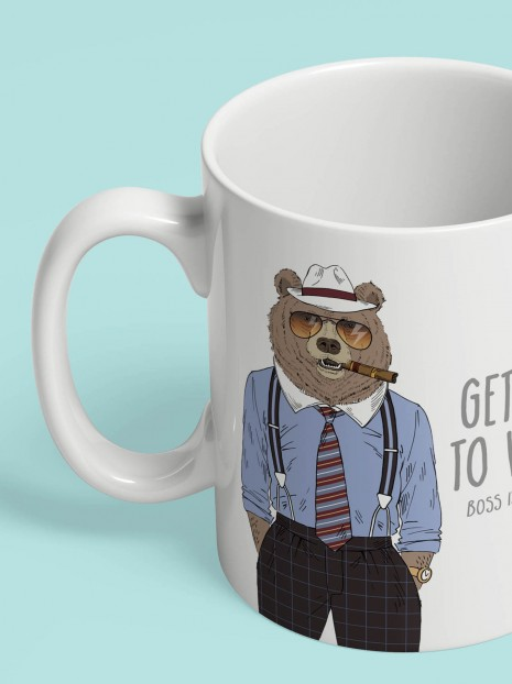 GET BACK TO WORK! Mug