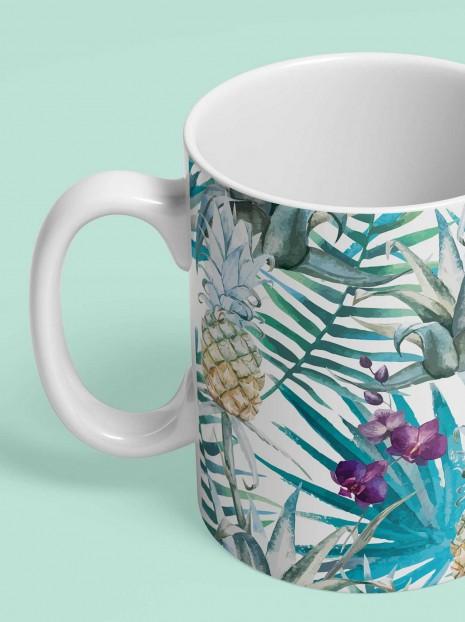 Exotic Pineapples Mug