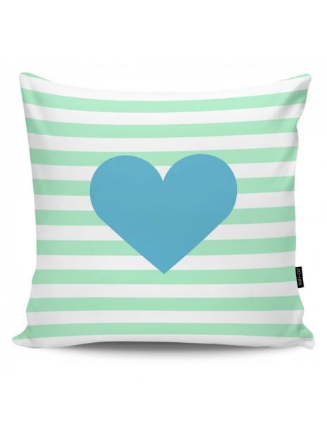 Throw Pillow Red Heart