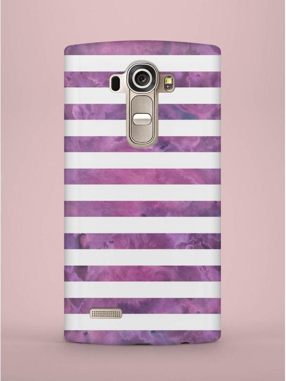Purple striped Case
