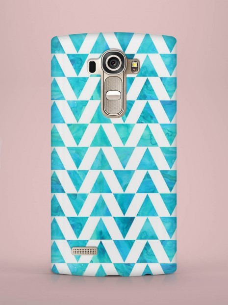 Blue  triangle Case