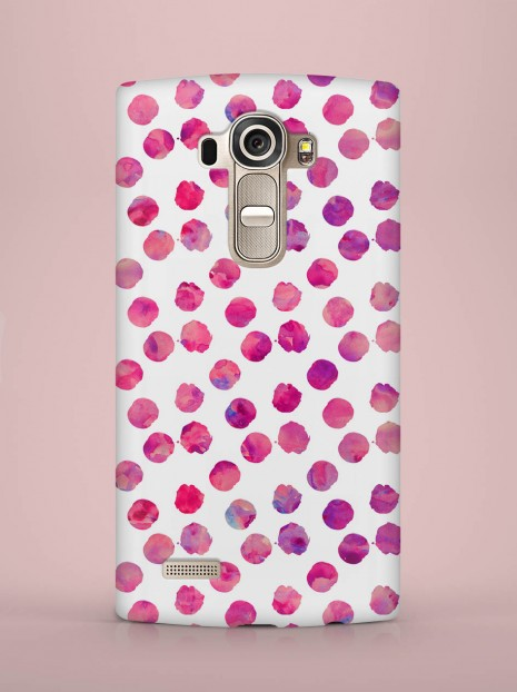 Purple dots Case