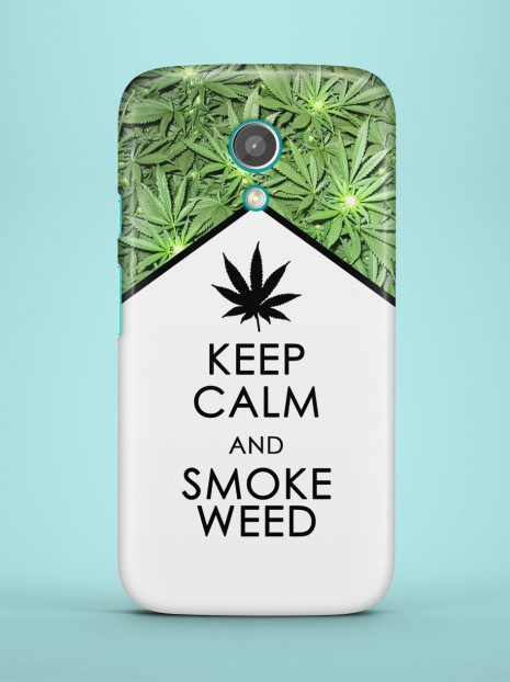 Keep calm and smoke weed Case