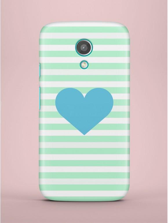 Blue heart Case