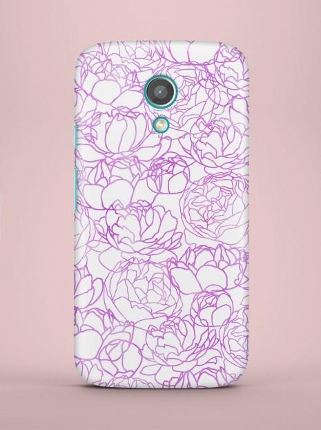 Purple roses Case