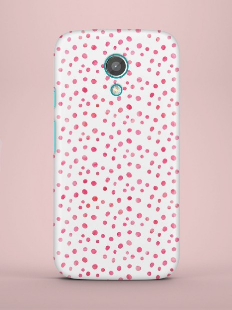 Pink dots Case