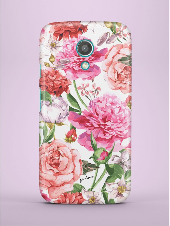 Peonies and Roses Case