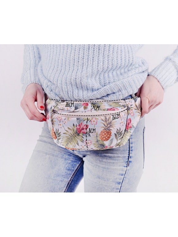 Beautiful and cozy bumbag