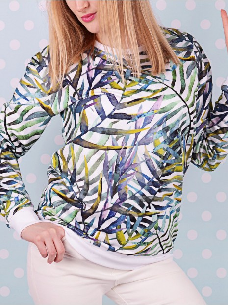 Palm Leafs Sweatshirt