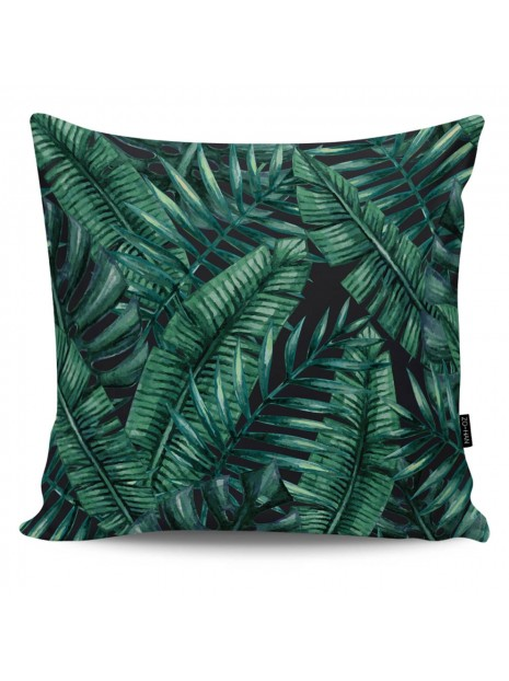 Poduszka Dekoracyjna Dark Palm Leaves
