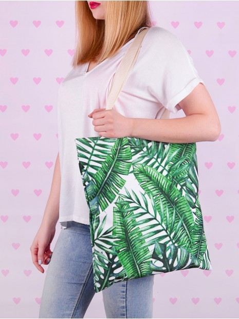 Shopper Bag Palm Leaves