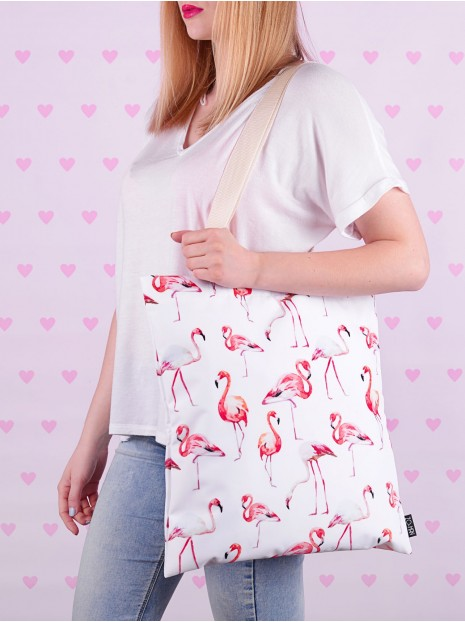 Shopper Bag Flamingos
