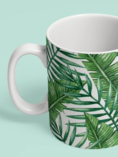 Palm Leaves Mug