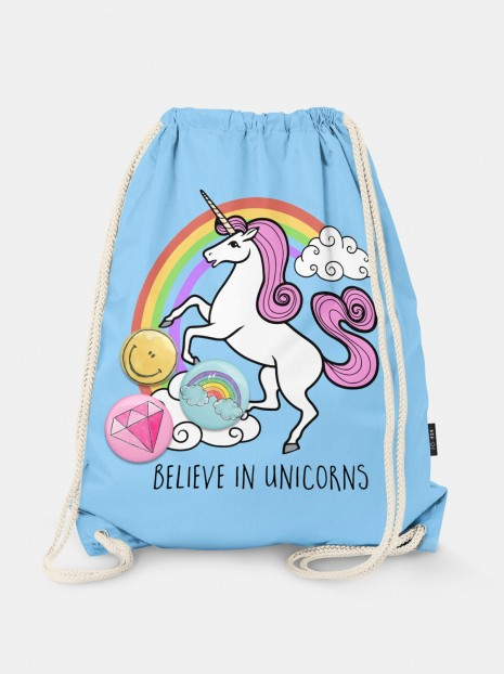 Worek Believe in Unicorns