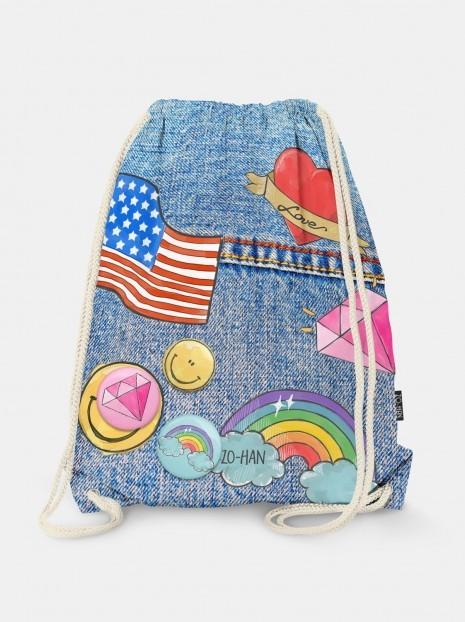 My Favorite Jeans Bag