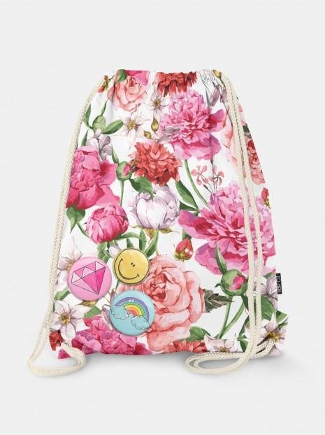 Peonies & Roses Bag