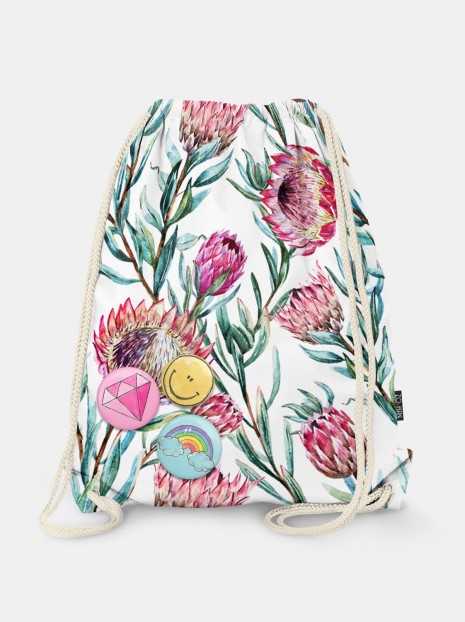 Tropical Protea Bag