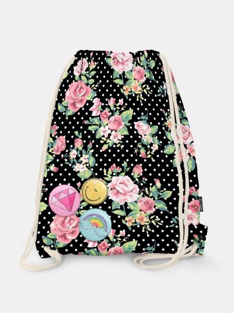 Dots & Roses Bag