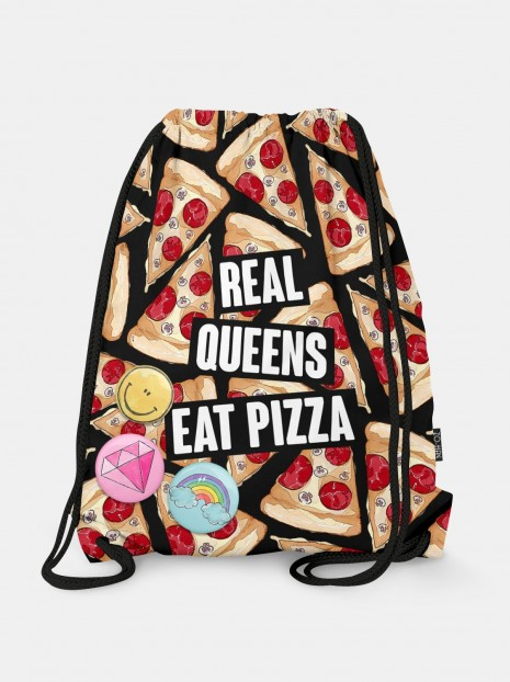 Worek Reall Queens Eat Pizza