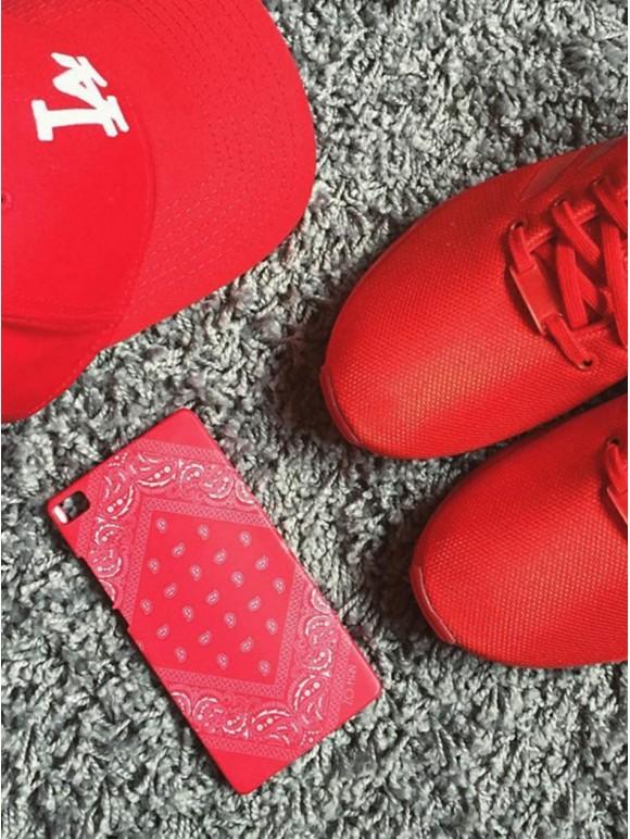 Red Bandana Case