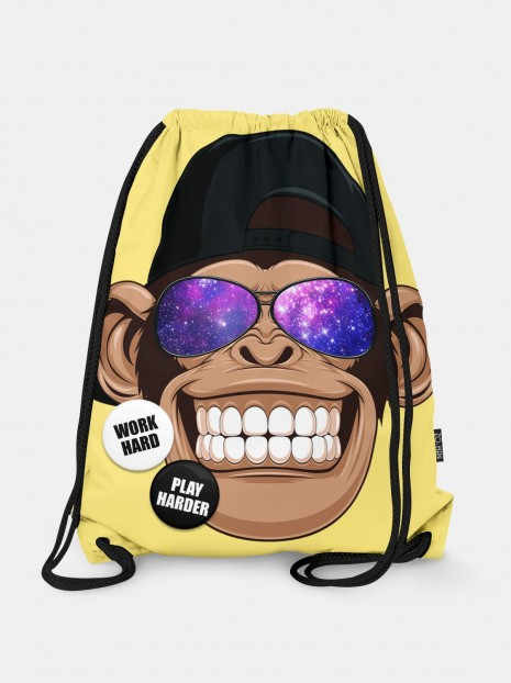 Galaxy Monkey Bag